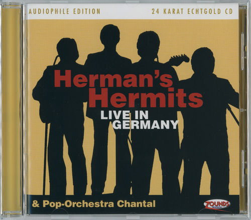 Herman's Hermits & Chantal - Live in Germany [24 Karat Gold-Edition]